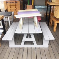 Grey kiddies combo table