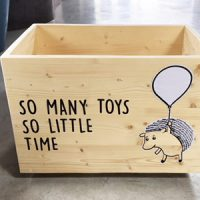 Porcupine toy box
