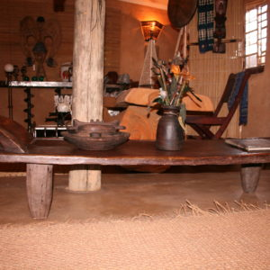 African Wooden Day Bed 2