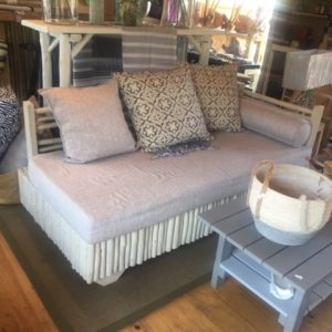 Latte White And Grey Day Bed