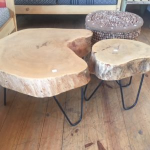 Mozam Side Tables With Wire 2