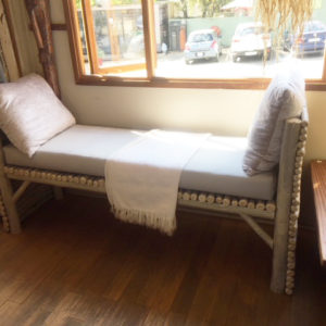 White And Silver Latte Day Bed